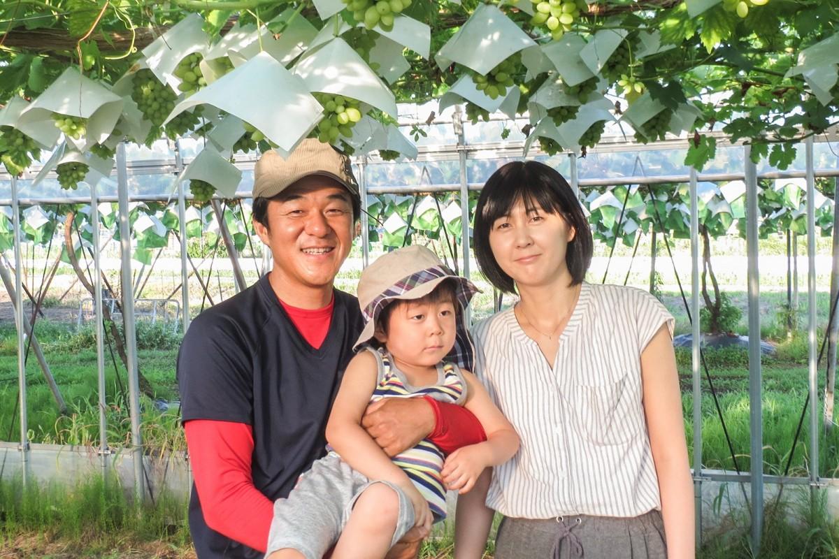 川瀬さん「おいしい果物でみんなを笑顔に」