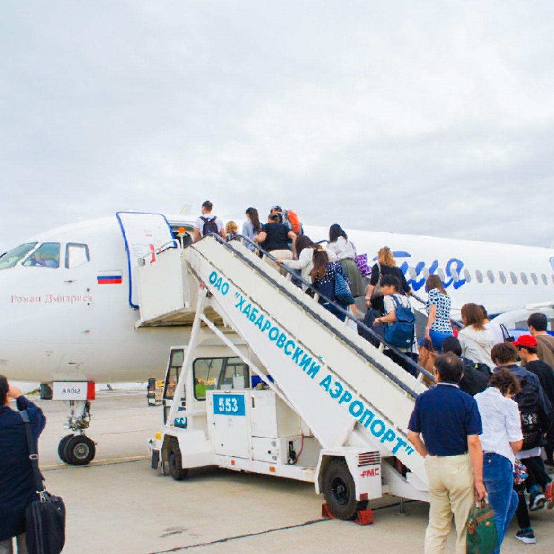 ロシア極東へ一番乗りをした新潟!