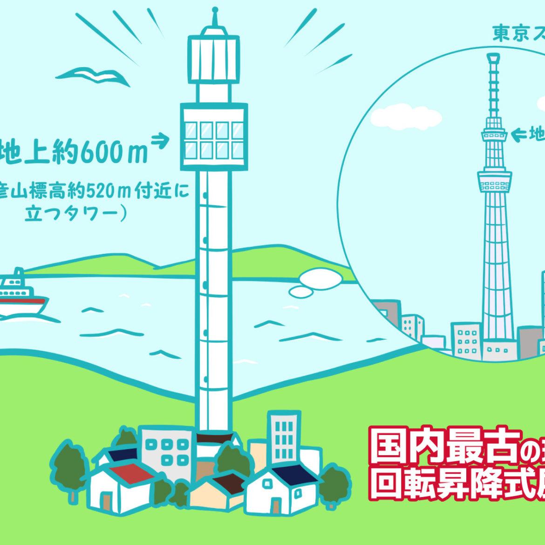 実は新潟市!?「弥彦パノラマタワー」